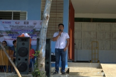 Turn-over of Solar Drier with Warehouse in Brgy. Kiburiao 010