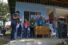 Turn-over of Solar Drier with Warehouse in Brgy. Kiburiao 012