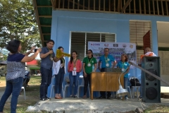 Turn-over of Solar Drier with Warehouse in Brgy. Kiburiao 013