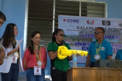 Turn-over of Solar Drier with Warehouse in Brgy. Kiburiao 018