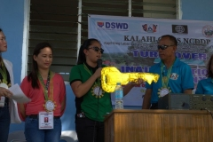 Turn-over of Solar Drier with Warehouse in Brgy. Kiburiao 019