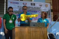 Turn-over of Solar Drier with Warehouse in Brgy. Kiburiao 021