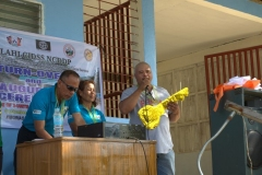 Turn-over of Solar Drier with Warehouse in Brgy. Kiburiao 024