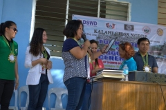 Turn-over of Solar Drier with Warehouse in Brgy. Kiburiao 029